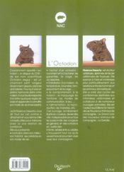 Octodon (L) - 4ème de couverture - Format classique