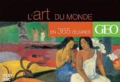 Le tour du monde en 365 oeuvres d'art - Couverture - Format classique