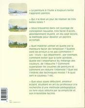 Et Si J'Apprenais T.3 ; La Peinture A L'Huile - 4ème de couverture - Format classique