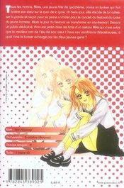 Binetsu shojo t.1 - 4ème de couverture - Format classique