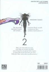 Tetsuwan Birdy t.2 - 4ème de couverture - Format classique