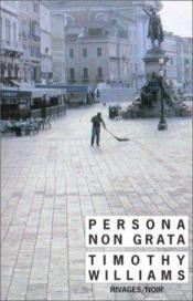 Persona non grata - Couverture - Format classique
