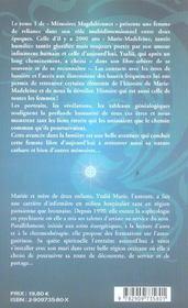 Memoires Magdaleennes - 4ème de couverture - Format classique