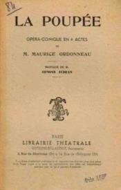 La poupée opéra-comique en 4 actes - Couverture - Format classique