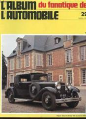 Album Du Fanatique De L'Automobile N°29 - Hispano Siuza 32 Chevaux 1927 - Couverture - Format classique