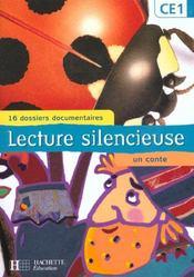 Lecture silencieuse ; CE1 ; pochette élève - Intérieur - Format classique