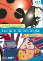 Lecture silencieuse ; CE1 ; pochette élève - Couverture - Format classique