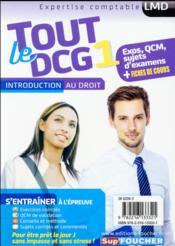 Tout le DCG 1 ; introduction au droit - 4ème de couverture - Format classique
