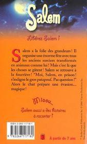Salem T.8 ; Liberez Salem - 4ème de couverture - Format classique