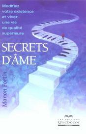 Secrets D'Ame - Intérieur - Format classique