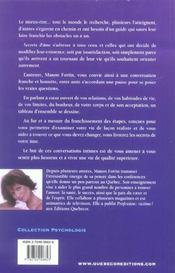Secrets D'Ame - 4ème de couverture - Format classique