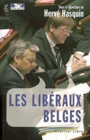 Libéraux belges - Couverture - Format classique