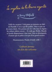 Mon poney magique ; le mystère de la brume argentée - 4ème de couverture - Format classique