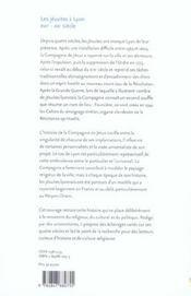 Les jesuites a lyon xvi-xx siecle - 4ème de couverture - Format classique