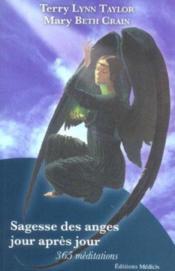 Sagesse des anges jour apres jour - Couverture - Format classique