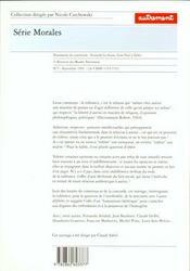 Tolerance - 4ème de couverture - Format classique