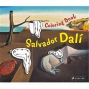Coloring Book Salvador Dali /Anglais - Couverture - Format classique