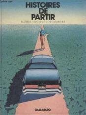 Histoires De Partir. - Couverture - Format classique