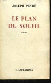 Le Plan Du Soleil. - Couverture - Format classique