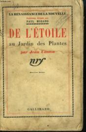 De L'Etoile Au Jardin Des Plantes. - Couverture - Format classique