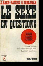 Le Sexe En Questions. - Couverture - Format classique