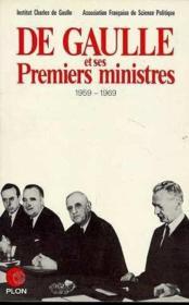 De Gaulle Et Ses Premiers Ministres - Couverture - Format classique