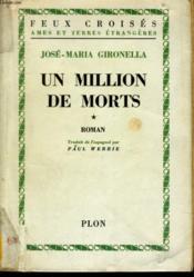 Un Million De Morts, Tomes 1 Et 2 - Couverture - Format classique