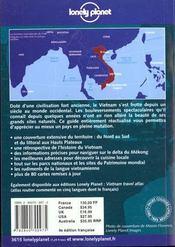 Vietnam - 4ème de couverture - Format classique