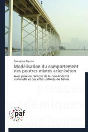 Modélisation du comportement des poutres mixtes acier-beton - Couverture - Format classique