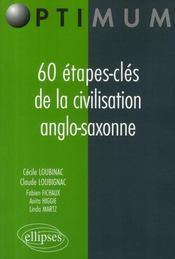 60 étapes-clés de la civilisation anglo-saxonne - Intérieur - Format classique