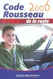 Code Rousseau (édition 2006) - Intérieur - Format classique
