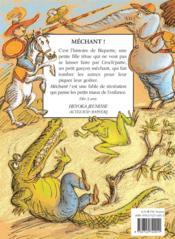 Mechant ! - 4ème de couverture - Format classique
