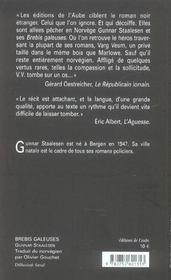 Brebis Galeuses - 4ème de couverture - Format classique