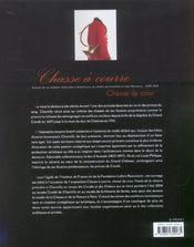 Chasse A Courre, Chasse De Cour - 4ème de couverture - Format classique