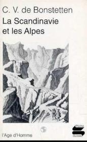 Scandinavie Et Les Alpes - Couverture - Format classique
