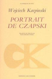 Portrait De Czapski - Intérieur - Format classique