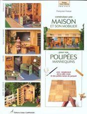 Construisez une maison et son mobilier pour poupées - Intérieur - Format classique