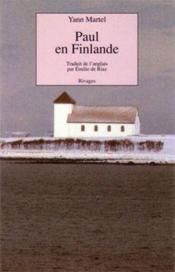 Paul en finlande - Couverture - Format classique