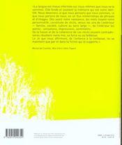 Villa Gillet 13 - Litteratures Europeennes - 4ème de couverture - Format classique