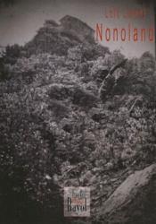 Nonoland - Couverture - Format classique