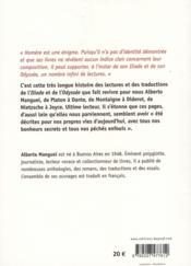 L'Illiade et l'Odyssée d'Homère - 4ème de couverture - Format classique