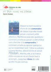 Les Yeux Tournes Vers L'Ocean - 4ème de couverture - Format classique