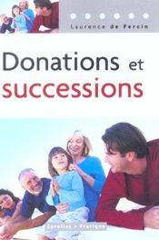 Donations et successions - Intérieur - Format classique