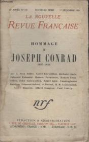 Collection La Nouvelle Revue Francaise N° 135. Hommage A Joseph Conrad. - Couverture - Format classique