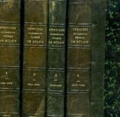 Memoires Du Chancelier Prince De Bülow. En 4 Tomes. Tome I : 1897-1902, Tome Ii : 1902-1909, Tome Iii : 1909-1919, Tome Iv : 1849-1896. - Couverture - Format classique