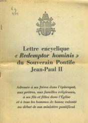 Lettre Encyclique