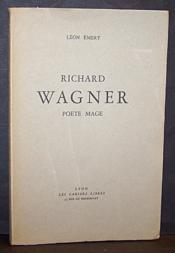 Richard Wagner poète mage - Couverture - Format classique