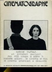 CINEMATOGRAPHE N°15 - Spécial Truffaut: un entretien exclusif - Couverture - Format classique