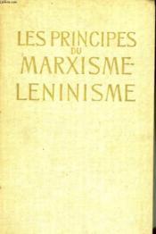 Les Principes Du Marxisme Leninisme - Couverture - Format classique