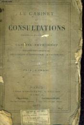 Le Cabinet De Consultations Comedie En 2 Actes Et En Vers. - Couverture - Format classique
